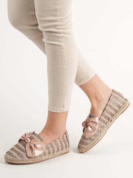 ESPADRYLE Z BROKATEM VICES